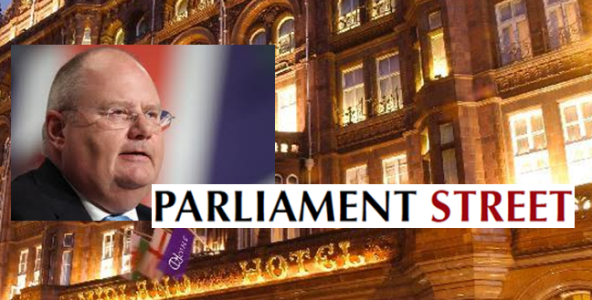 Cabinet minister Eric Pickles to address Parliament Street reception in Manchester