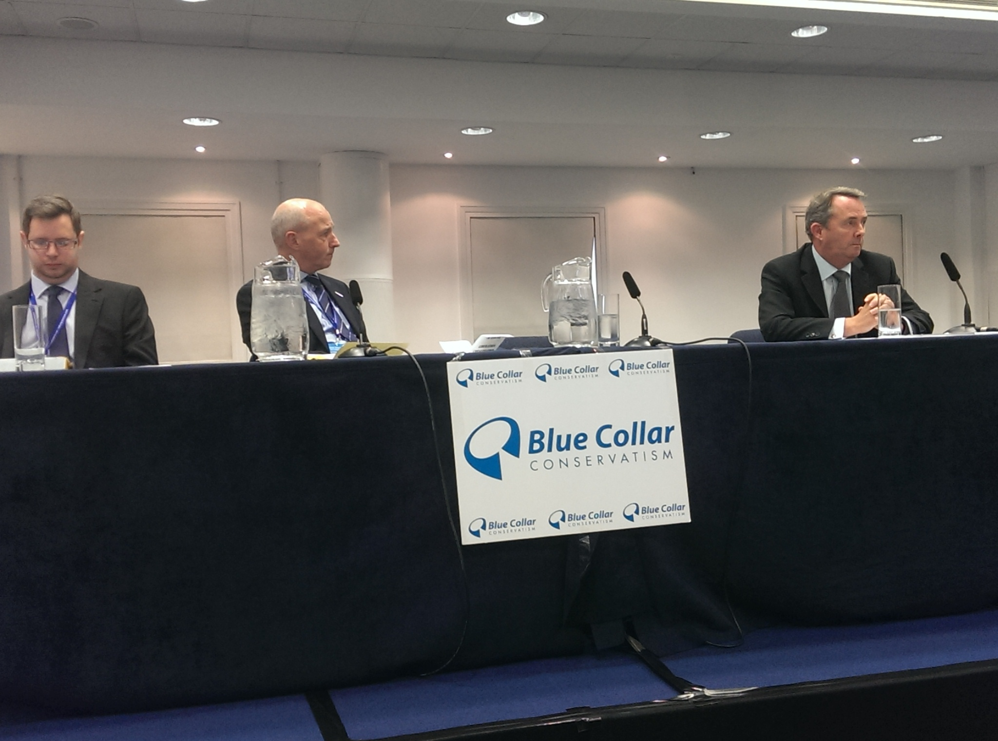 Liam Fox calls for 'Liberation Conservatism' at Blue Collar Conservatism event