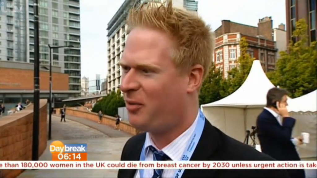 Parliament Street Daybreak Interview with Steven George-Hilley