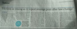The Guardian: Revenge porn: 175 cases reported to police in six months