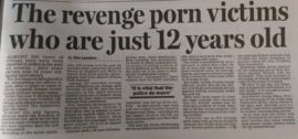 Daily Mail: The revenge porn victims as young as twelve